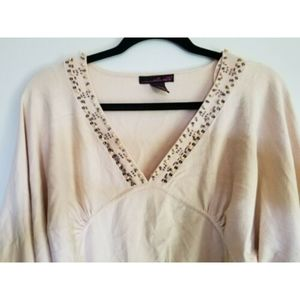 WILLI SMITH Blouse Top Shirt.Sweater.  Size XL